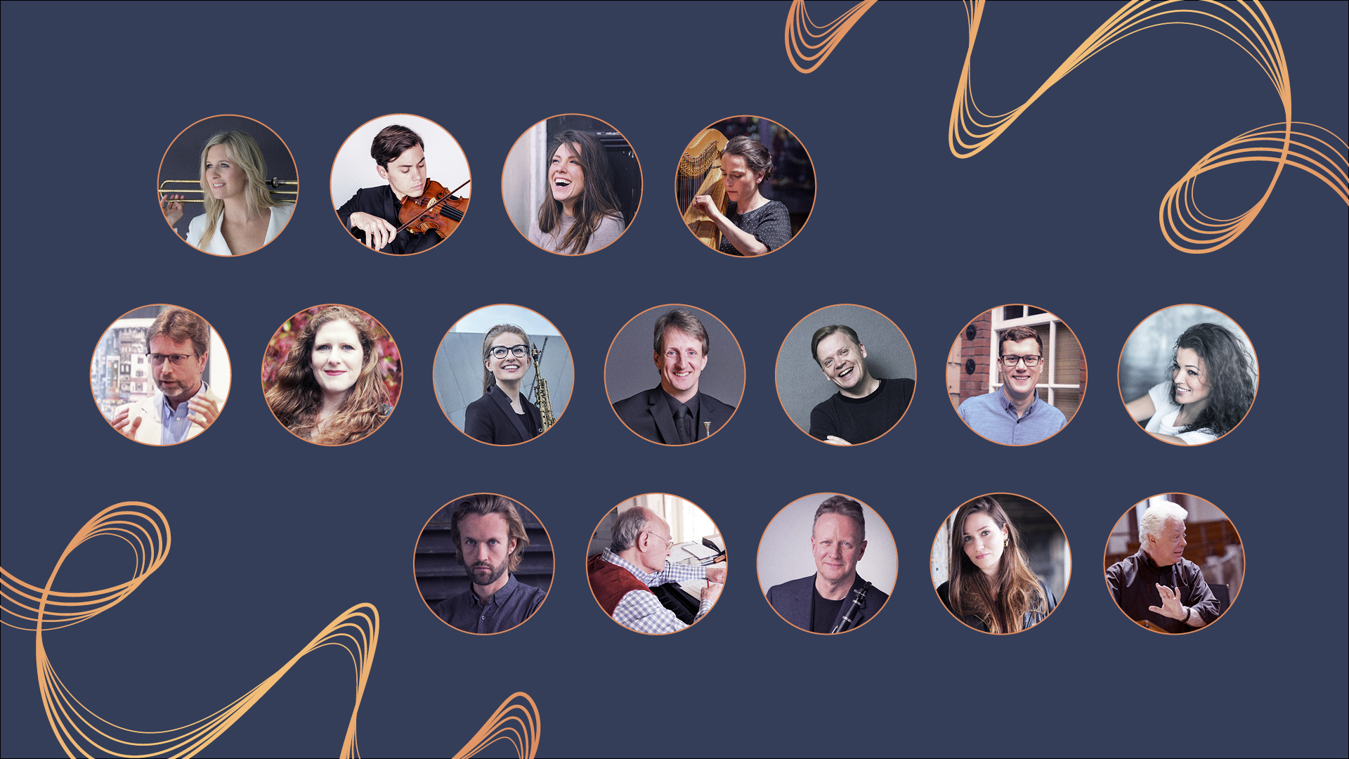 LCO Online Concert artists for the 7 May online concert